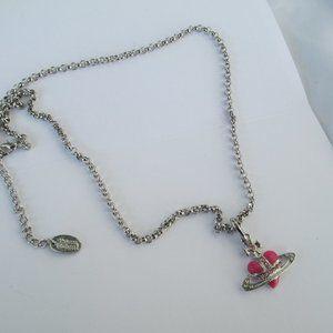 Vivienne Westwood Heart  Orb Pendant necklace